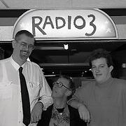 Langste man van Nederland Rob Bruintjes op bezoek bij Jack Spijkerman Steen en Beenshow Radio 3