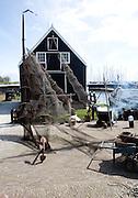 Fishing harbour, Marken harbour, Zuiderzee museum, Enkhuizen, Netherlands