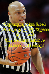 NORMAL, IL - February 02: Ed Crenshaw during a college basketball game between the ISU Redbirds and the University of Loyola Chicago Ramblers on February 02 2019 at Redbird Arena in Normal, IL. (Photo by Alan Look)