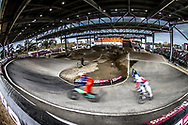 at Round 2 of the 2018 UCI BMX Superscross World Cup in Saint-Quentin-En-Yvelines, France.