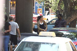 Kate Beckinsale on set of The Widow in Cape Town