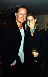 MISS KATHERINE BEARMAN who recently, during lunch sat next to HRH Prince William at a polo match in July 1999 and her brother MR CHRISTIAN BEARMAN, at a party in London on 14th September 1999.MWI 71
