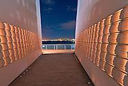 Masayuki Sono's Postcards, Staten Island September 11 Memorial honors the Staten Island victims of terrorist attacks, New York City, New York, USA
