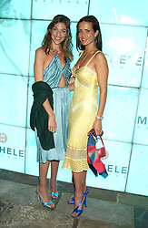 Left to right, MICHELE BAROUH and SOPHIE ANDERTON  at Michele Watches Kaleidoscope Summer Garden Party held at Home House, Portman Square, London on 15th June 2005.<br />