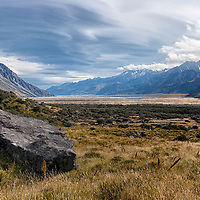 """According to """"Wikipedia"""" - Aoraki/Mount Cook National Park is in the South Island of New Zealand near the town of Twizel. Aoraki/Mount Cook, New Zealand's highest mountain and Aoraki/Mount Cook village lie within the park. The area was gazetted as a national park in October 1953 and consists of reserves that were established as early as 1887 to protect the area's significant vegetation and landscape."""