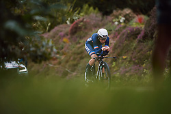 Audrey Cordon-Ragot (FRA) at the 2020 UEC Road European Championships - Elite Women ITT, a 25.6 km individual time trial in Plouay, France on August 24, 2020. Photo by Sean Robinson/velofocus.com