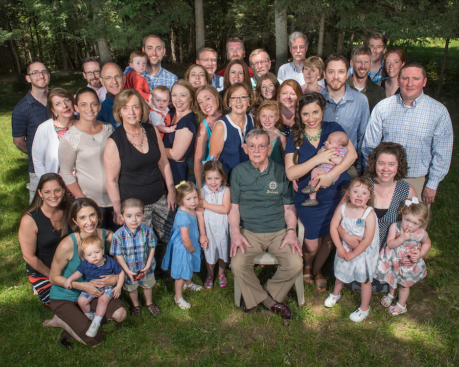Photo by Mara Lavitt<br /> June 19, 2016<br /> The Jack Gillespie Clan gathered for his 90th birthday.