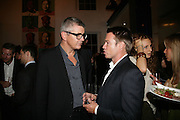 Jay Jopling, Party hosted by Sir Richard and Lady Ruth Rogers at their house in Chelsea  to celebrate the extraordinary achievement of completing this year's Pavilion  by Olafur Eliasson and Kjetil Thorsenat at the Serpentine.  13 September 2007. -DO NOT ARCHIVE-© Copyright Photograph by Dafydd Jones. 248 Clapham Rd. London SW9 0PZ. Tel 0207 820 0771. www.dafjones.com.