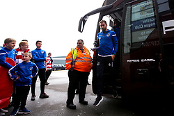 Edward Upson of Bristol Rovers arrives at Doncaster Rovers - Mandatory by-line: Robbie Stephenson/JMP - 19/10/2019 - FOOTBALL - The Keepmoat Stadium - Doncaster, England - Doncaster Rovers v Bristol Rovers - Sky Bet League One