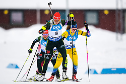 March 10, 2019 - –Stersund, Sweden - 190310 Denise Herrmann of Germany and Mona Brorsson of Sweden during the Women's 10 km Pursuit during the IBU World Championships Biathlon on March 10, 2019 in Östersund..Photo: Petter Arvidson / BILDBYRÃ…N / kod PA / 92254 (Credit Image: © Petter Arvidson/Bildbyran via ZUMA Press)