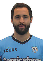 Florian Makhedjouf during the during photoshooting of Tours FC for new season 2017/2018 on October 5, 2017 in Tours, France<br /> Photo : Tours FC / Icon Sport