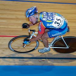 ALKMAAR (NED) wielrennen<br />NK Baanwielrennen ; mannen 2004,; Klassement; Matthe Pronk