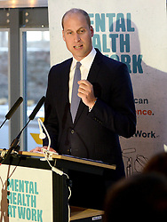 September 12, 2018 - Bristol, London, United Kingdom - Image licensed to i-Images Picture Agency. 11/09/2018. Bristol, United Kingdom. Prince William, Duke Of Cambridge  at the Royal Foundation at the launch of Mental Health At Work at The Engine Shed  in Bristol, United Kingdom. (Credit Image: © Pool/i-Images via ZUMA Press)