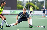 UTRECHT -  Jip Janssen ,    tijdens  de training van Kampong  voor het nieuwe hockey hoofdklasse competitie. .COPYRIGHT KOEN SUYK