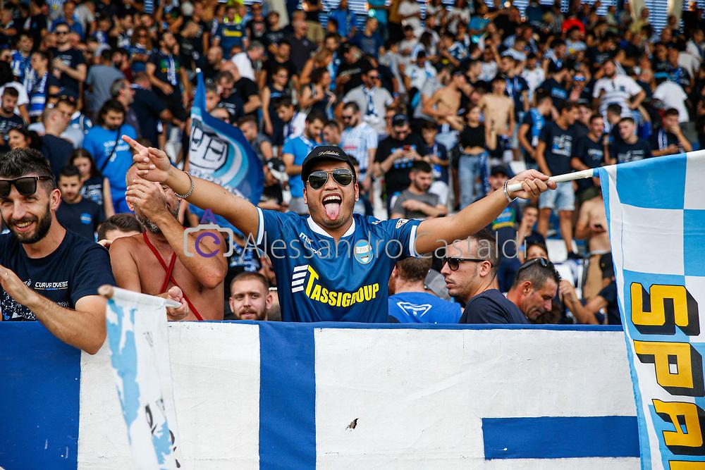 FERRARA - ITALY, 15-09-19 — 3° GIORNATA DI CAMPIONATO SERIE A TIM — STADIO PAOLO MAZZA — SPAL VS LAZIO — FOTO DI CASTALDI, NELLA FOTO: TIFOSI DELLA SPAL
