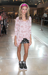 Hailey Baldwin during the Pastry Shoes event at the Fashion Show Mall, Las Vegas