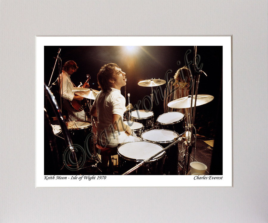 Keith Moon (The Who) MCP1210-CLFE-036 CLMA-013
