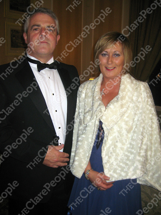 John and Joan Kerin at the Clare Licenced Vintners Annual Dinner.