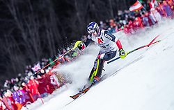 """29.01.2019, Planai, Schladming, AUT, FIS Weltcup Ski Alpin, Slalom, Herren, 1. Lauf, im Bild Dave Ryding (GBR) // Dave Ryding of United Kingdom in action during his 1st run of men's Slalom """"the Nightrace"""" of FIS ski alpine world cup at the Planai in Schladming, Austria on 2019/01/29. EXPA Pictures © 2019, PhotoCredit: EXPA/ JFK"""