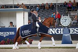 Van Lierop Robin, NED, Finja<br /> Longines FEI/WBFSH World Breeding Dressage Championships for Young Horses - Ermelo 2017<br /> © Hippo Foto - Dirk Caremans<br /> 04/08/2017