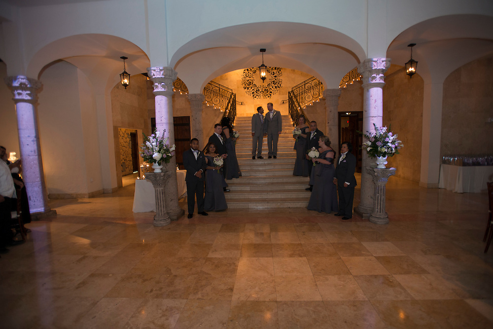 Richard Wall and Emmanuel Hernandez were wed on February 16, 2016, at a delightful ceremony in Houston, Texas.