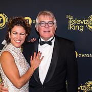 NLD/Amsterdam/20191009 - Uitreiking Gouden Televizier Ring Gala 2019, Evelien de Bruijn en partner Paul van der Lugt