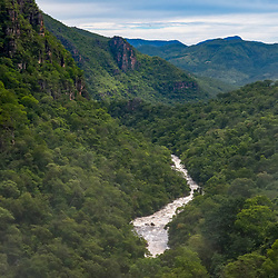 Paisagem (Cenário) fotografado no Parque Nacional da Chapada dos Veadeiros - Goiás. Bioma Cerrado. Registro feito em 2015.<br /> ⠀<br /> ⠀<br /> <br /> <br /> <br /> <br /> <br /> ENGLISH: Landscape photographed in Chapada dos Veadeiros National Park - Goias. Cerrado Biome. Picture made in 2015.