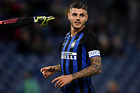 Mauro Icardi of Internazionale reacts during the Serie A 2018/2019 football match between SS Lazio and FC Internazionale at stadio Olimpico, Roma, October, 29, 2018 <br />  Foto Andrea Staccioli / Insidefoto
