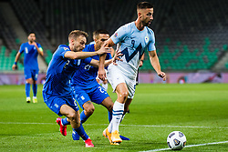 Andraz Sporar of Slovenia during football match between National Teams of Slovenia and Greece in UEFA Nations League 2020, on September 3, 2020 in SRC Stozice, Ljubljana, Slovenia. Photo by Grega Valancic / Sportida