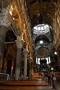 Interior of Cathedral of Saint Jacob (Sveti Jakova), Sibenik, Croatia. Sometimes also referred to as Cathedral of Saint James.