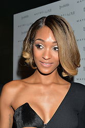 JOURDAN DUNN at the Maybelline New York: Party, part of the London Fashion Week Spring Summer 15 held at Tredwell's, 4a Upper St Martins Lane, London on 12th September 2014.