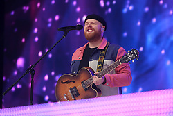 Tom Walker on stage during Capital's Summertime Ball. The world's biggest stars perform live for 80,000 Capital listeners at Wembley Stadium at the UK's biggest summer party. PRESS ASSOCIATION PHOTO. Picture date: Saturday June 8, 2019. Photo credit should read: Isabel Infantes/PA Wire