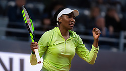 May 13, 2019 - Rome, ITALY - Venus Williams of the United States in action during her first-round match at the 2019 Internazionali BNL d'Italia WTA Premier 5 tennis tournament (Credit Image: © AFP7 via ZUMA Wire)