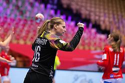 HERNING, DENMARK - DECEMBER 4: Althea Reinhardt during the EHF Euro 2020 Group A match between Denmark and Slovenia in Jyske Bank Boxen, Herning, Denmark on December 4, 2020. Photo Credit: Allan Jensen/EVENTMEDIA.