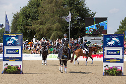 Marée Gerdine (NED) - Dream Boy<br /> FEI World Dressage Championships for Young Horses<br /> Internationales Dressur- und Springfestival - Verden 2014<br /> © Dirk Caremans