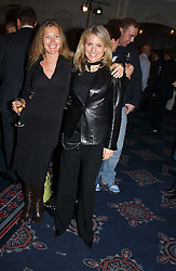 Left to right, SOPHIE CONRAN daughter of Sir Terence Conran  and LAURA SANTINI at the Tatler Restaurant Awards in association with Champagne Louis Roederer held at the Four Seasons Hotel, Hamilton Place, London W1 on 10th January 2005.<br /><br /><br />NON EXCLUSIVE - WORLD RIGHTS