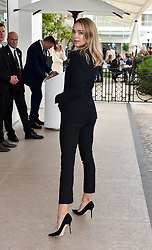 Kimberley Garner is seen in 2 outfits as she gets ready for the evenings premiere red carpet at the Cannes film festival. 19 May 2019 Pictured: Kimberley Garner. Photo credit: Neil Warner/MEGA TheMegaAgency.com +1 888 505 6342