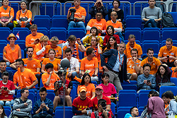 19-10-2018 JPN: Semi Final World Championship Volleyball Women day 20, Yokohama<br /> Serbia - Netherlands / Support Netherlands Dutch, Peter Sprenger