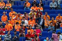 19-10-2018 JPN: Semi Final World Championship Volleyball Women day 20, Yokohama<br /> Serbia - Netherlands / Support Netherlands Dutch, Peter Sprenger