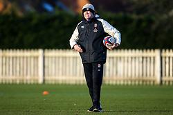England Under 20s Head Coach Steve Bates - Mandatory by-line: Robbie Stephenson/JMP - 08/01/2019 - RUGBY - Bisham Abbey National Sports Centre - Bisham Village, England - England Under 20s v  - England Under 20s Training