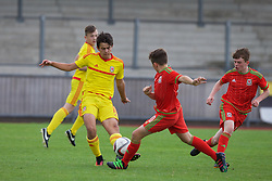 NEWPORT, WALES - Thursday, August 4, 2016: North Wales Academy Boys' Mohammed El-Arab during the Welsh Football Trust Cymru Cup 2016 at Newport Stadium. (Pic by Paul Greenwood/Propaganda)