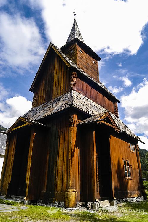 Norway, Ål. Torpo Stave Church.