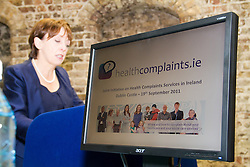 """New Health and Social Care Public Service Launched. .Monday, 19th September 2011. .""""Tell us if mistakes have been made and don't be afraid to complain"""" was the key message from the launch of Healthcomplaints, a public service initiative to help members of the public understand where and how to complain about health and social care services, launched today (Monday) by Minister of State Roisin Shortall, TD...New Health and Social Care Public Service Launched...The Minister of State at the Department of Health with responsibility for Primary Care launched the initiative at a conference in Dublin Castle on How and Where to Complain about Heath and Social Care Services.  . .""""It is important to stress that everyone has the right to make a complaint and be confident that the complaint will be dealt with fairly, properly and promptly.  Making a complaint should be a straightforward procedure; there should be no underlying concern that a complaint will in any way impinge on the level of care provided. When a patient contacts your service to complain about a service received, it can be a blessing in disguise.  Sometimes you will see a weakness in your services that can be rectified. This will prevent possible future complaints or problems down the line. It is an effective form of patient feedback, although one you hope to minimise.  The goal should be to get few or no complaints at all, """" said Minister Shortall, speaking at the launch. . .Healthcomplaints is a toolkit which provides information and support about how and where to make complaints on services in health or social care. It consists of a guide for the public; a leaflet, a poster, a staff training guide and   the website - www.healthcomplaints.ie. . .This is the first time such an initiative as this has been launched in Ireland. . .Speaking about how the initiative came about, the Ombudsman, Emily O'Reilly, said: """"In June 2010, my Office decided to do something to try to make it easier for people to make a health an"""