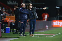 Football - 2020 / 2021 Sky Bet Championship - AFC Bournemouth vs. Wycombe Wanderers - The Vitality Stadium<br /> <br /> Wycombe Wanderers Manager Gareth Ainsworth at the Vitality Stadium (Dean Court) Bournemouth <br /> <br /> COLORSPORT/SHAUN BOGGUST