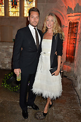 SEB & HEIDI BISHOP at Save the Children's spectacular, black tie Winter Gala, a festive fundraising event held at London's Guildhall. Guests were transported into the magical world of the much-celebrated British novelist, Roald Dahl, in celebration of his centenary, for a marvellous evening of fine dining and gloriumtious entertainment to raise money to help transform children's lives across the world and here in the UK.