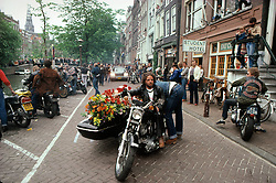 Hells Angels Funeral. Amsterdam, The Netherlands, 1981<br /> <br /> Limited Edition Print from an edition of 20. Photo ©1981 Michael Lichter.