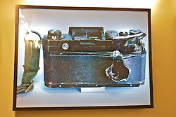 Camera With Bullet Hole