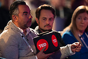 Audience members during TED Interview Live at TED2019: Bigger Than Us. April 15 - 19, 2019, Vancouver, BC, Canada. Photo: Bret Hartman / TED