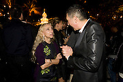 FRANCA SOZZANI; JORGE GARCIA.  The Launch of Visionaire 55 Surprise in collaboration with Krug. Raleigh Hotel. Art Basel Miami Beach. 4 December 2008 *** Local Caption *** -DO NOT ARCHIVE -Copyright Photograph by Dafydd Jones. 248 Clapham Rd. London SW9 0PZ. Tel 0207 820 0771. www.dafjones.com