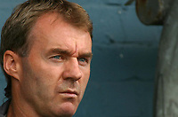 Photo: Paul Thomas.<br /> Oldham Athletic v Swansea City. Coca Cola League 1. 12/08/2006.<br /> <br /> John Sheridan, Oldham manager.
